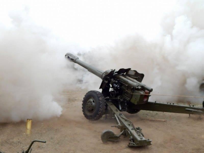 В Приморье работают тяжелая артиллерия