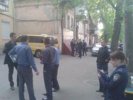 В Одессе под офисом