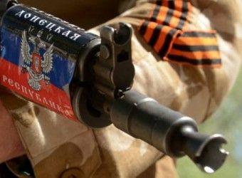 Боевик так называемой ДНР, иллюстрация