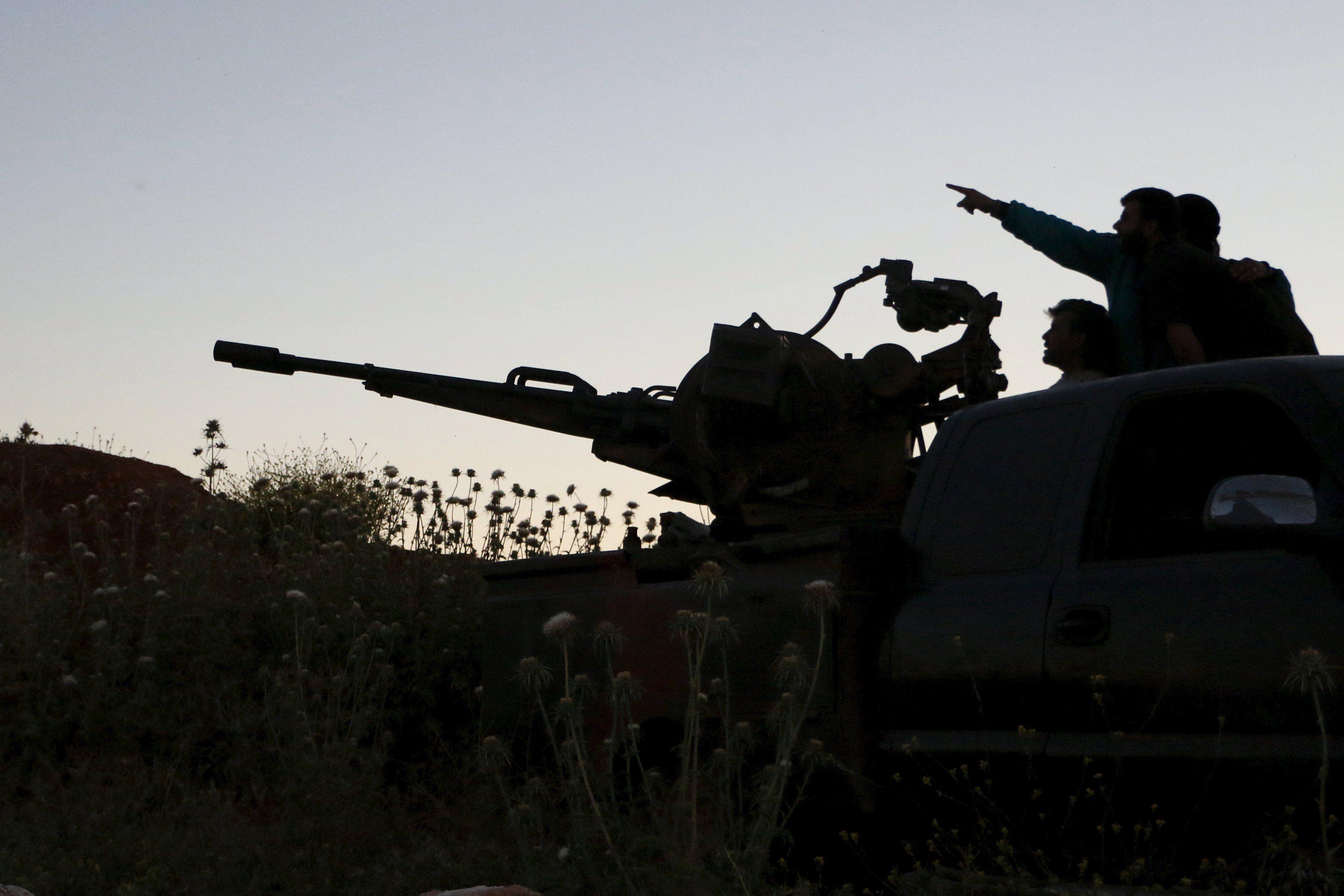 Война в Сирии продолжается уже несколько лет