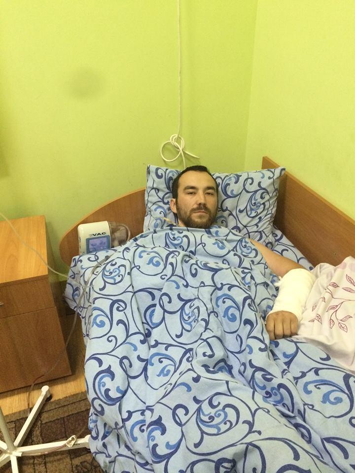 Украинские врачи спасли ногу пленному спецназовцу из РФ