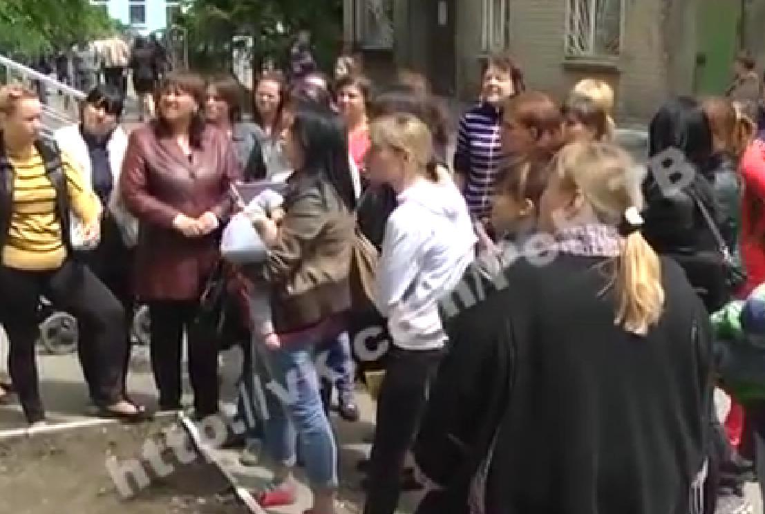 Забастовка в ЛНР, иллюстрация