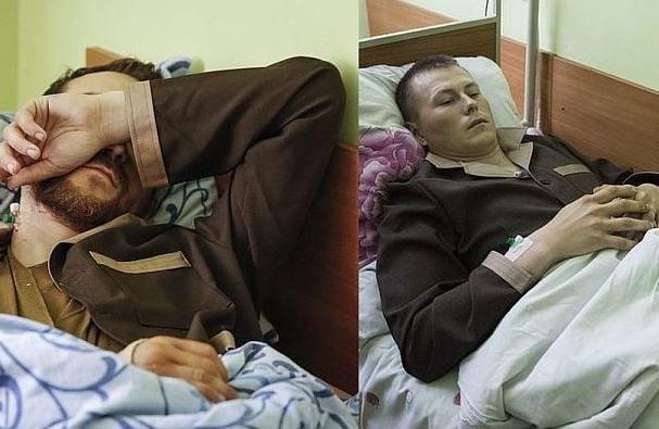 Капітан Євген Єрофеєв та сержант Олександр Александров