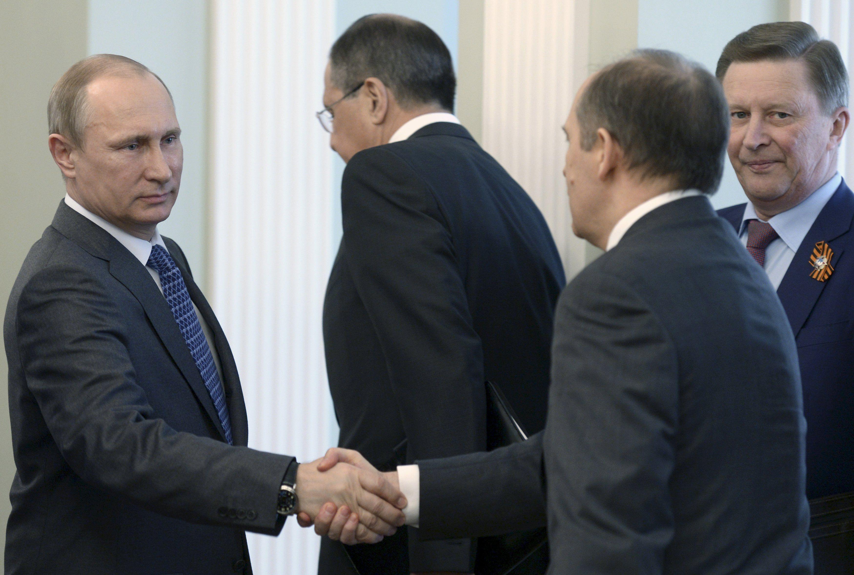 Ближайшее окружение Путина: Лавров, Бортников, Иванов