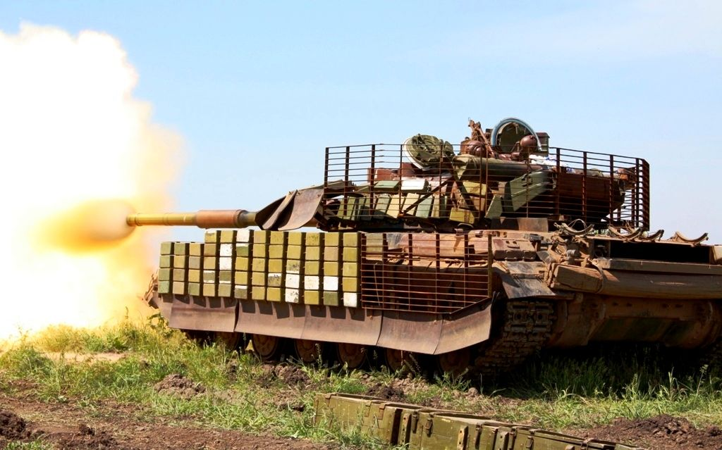 Силовики отогнали боевиков под Горловкой