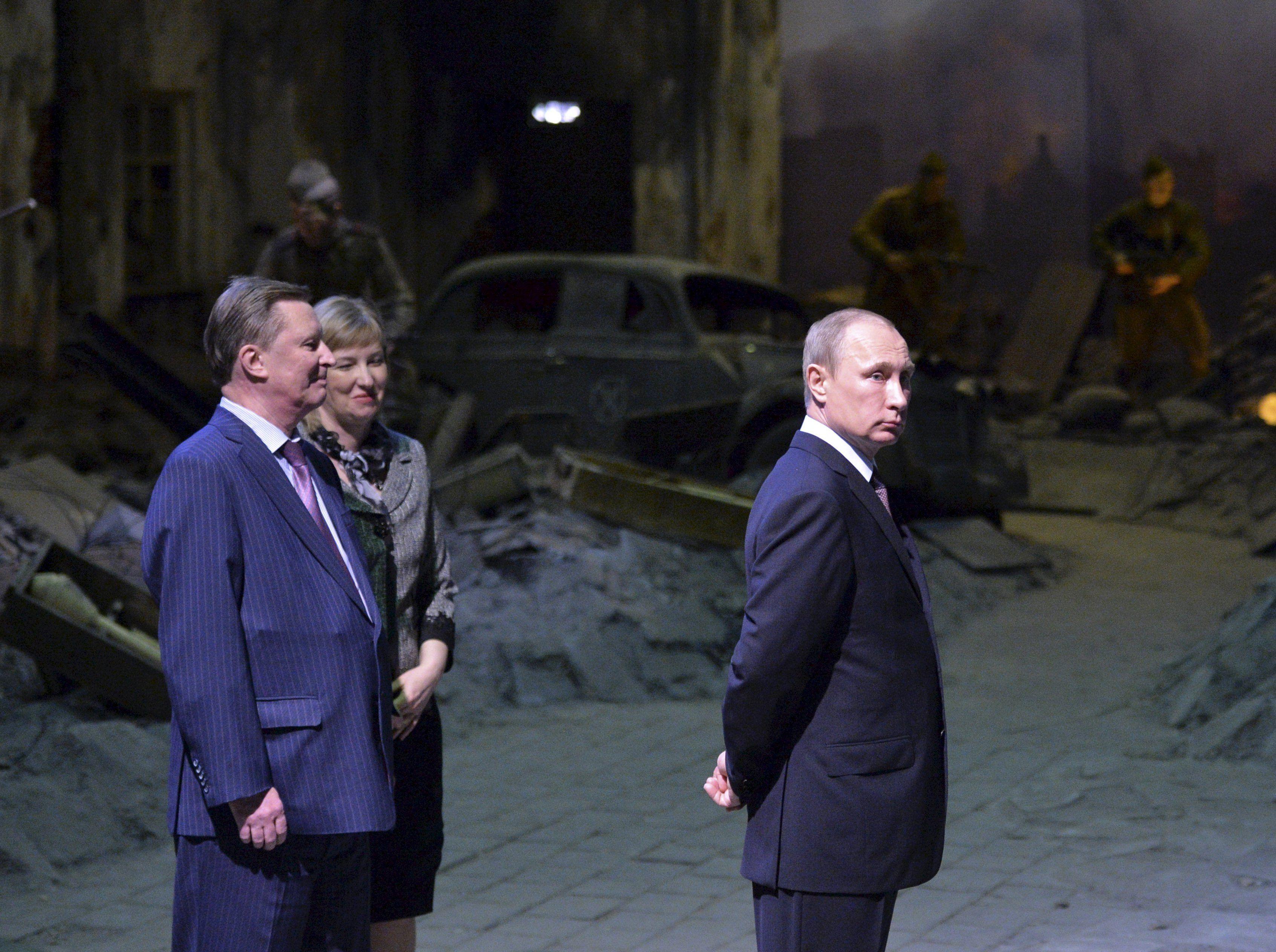 За спиной Владимира Путина Сергей Иванов