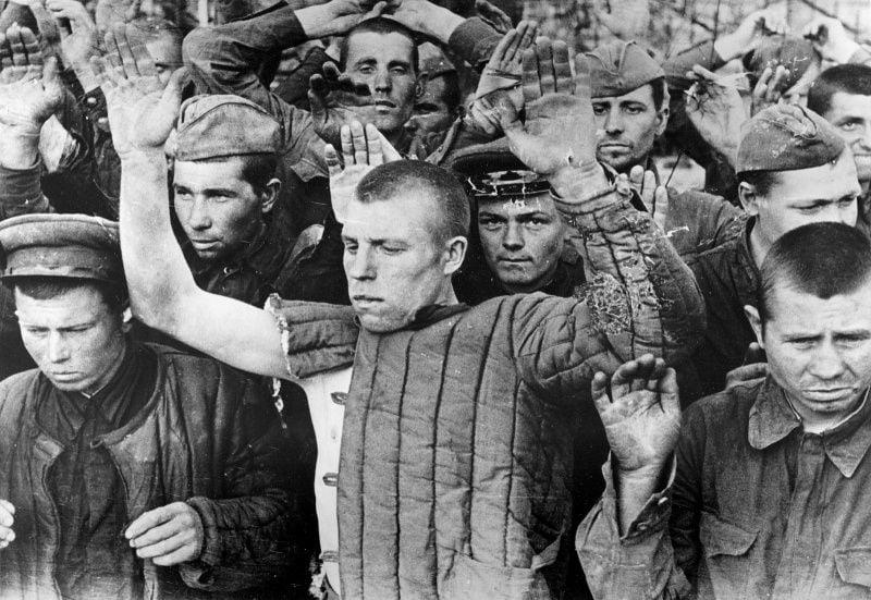 Советские военнопленные в 1941-м году