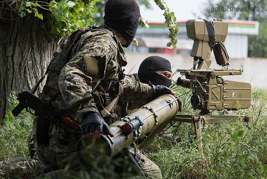 Огонь ведется со стороны подконтрольных боевикам Сокольников