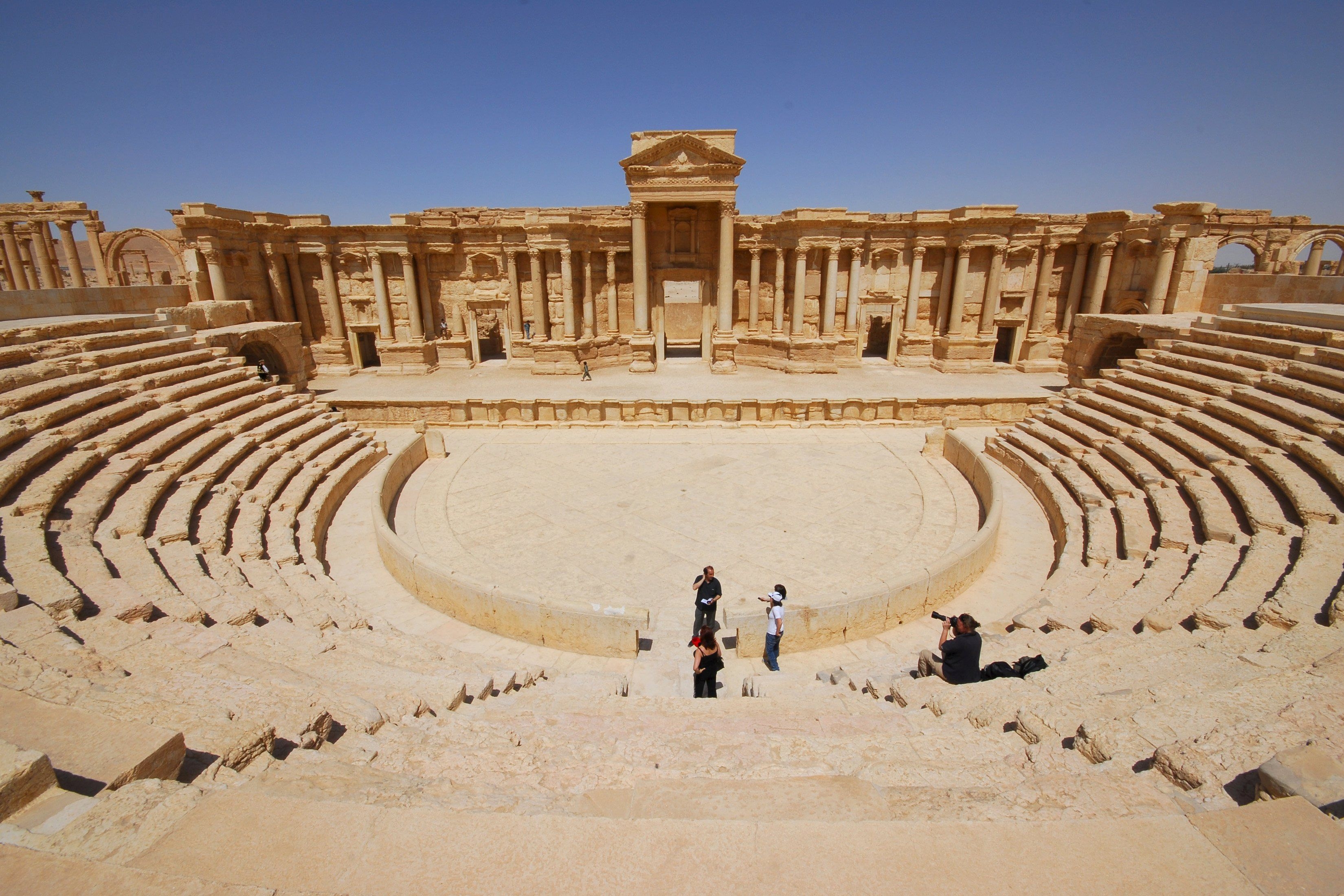Пальмира, иллюстрация