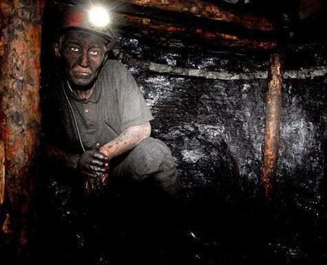 горняк, шахтер, копанка