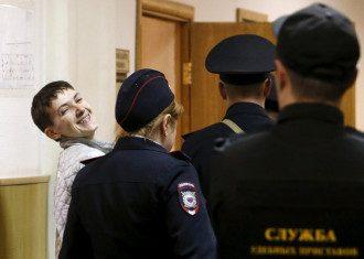 Надежда Савченко в российском суде
