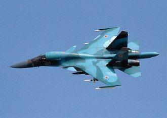 В России Су-34 столкнулись над акваторией Японского моря