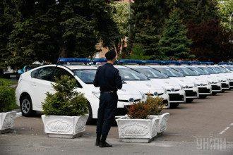 Патрульные машины для киевских экипажей