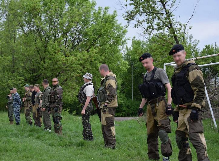 Чешско-словацкая банда наемников на Донбассе