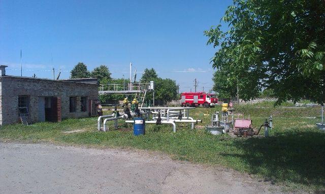 На Ровенщине произошел взрыв на нефтебазе, есть пострадавшие
