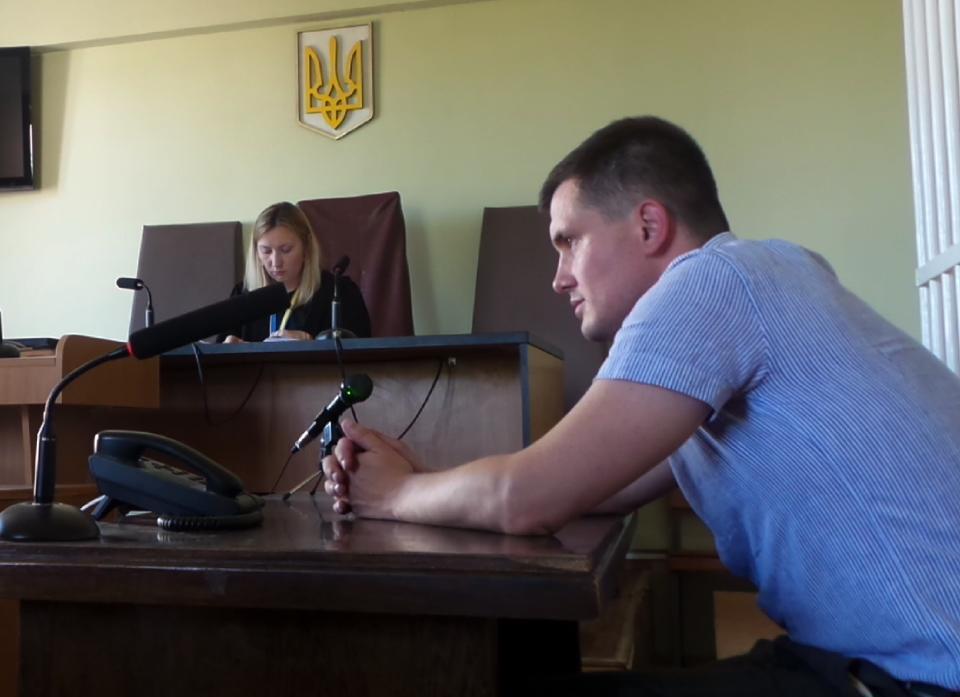 Прокурор Артем Тендитный в суде