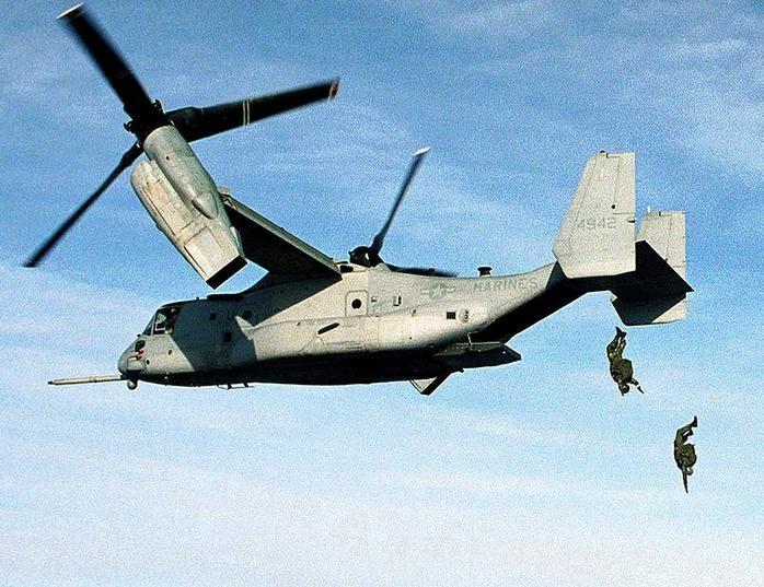 Американский конвертоплан V-22 Osprey