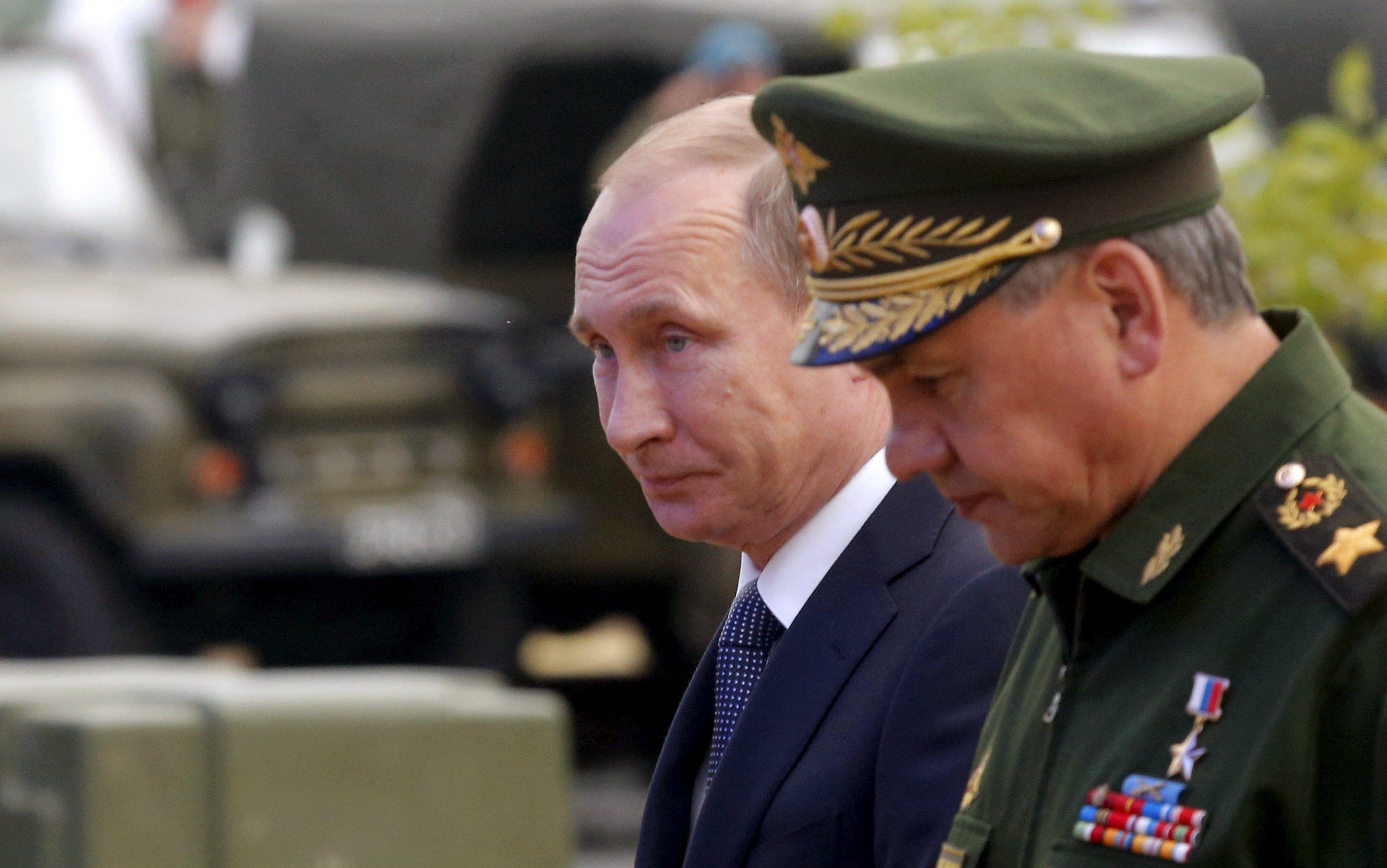 Путин, Шойгу, Кубинка