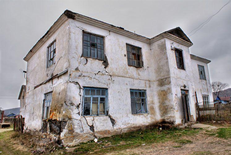 аварийный дом, жилье