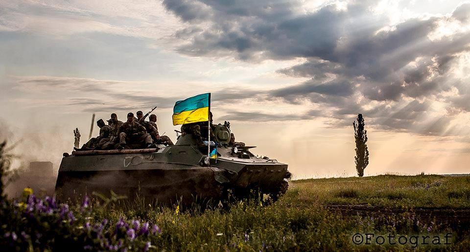 Украинские добровольцы на Донбассе