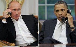 Путин поговорил с Обамой, иллюстрация