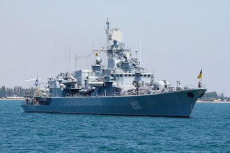 Военные учения начались в Черном море