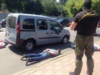 Трех задержанных в Киеве уже отпустили