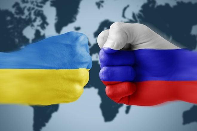 Украина-Россия, иллюстрация