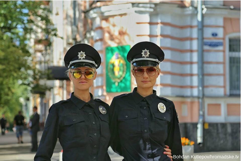 Киевские полицейские