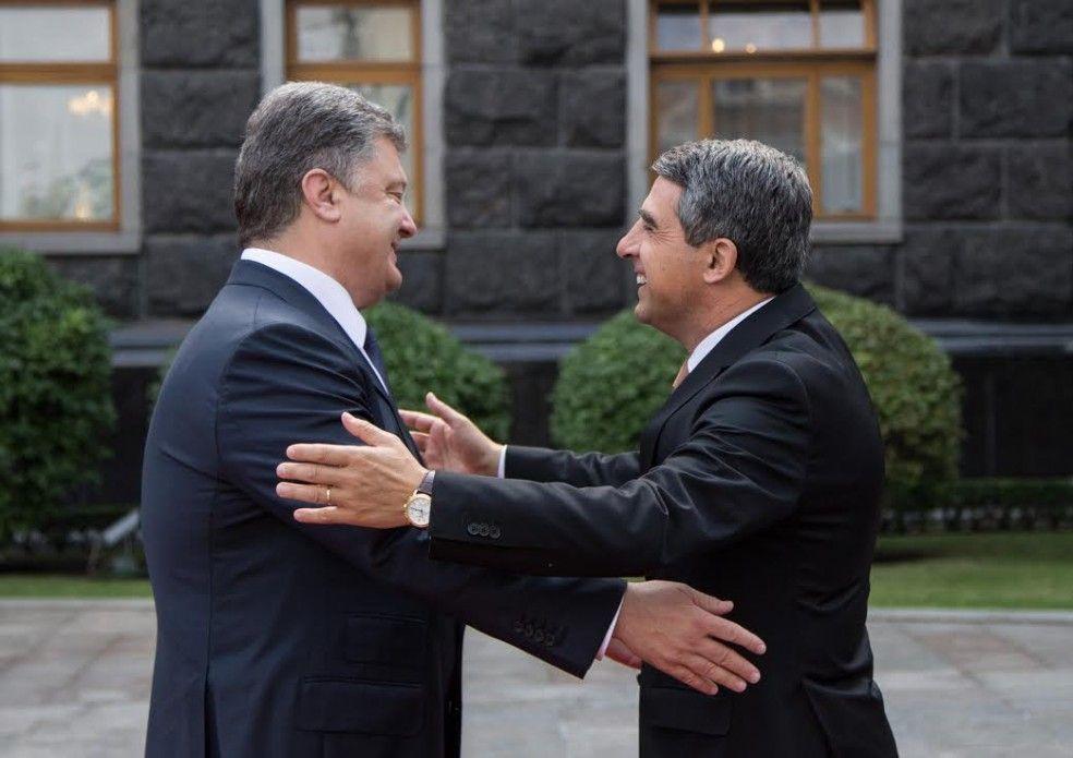 Петр Порошенко и Росен Плевнелиев