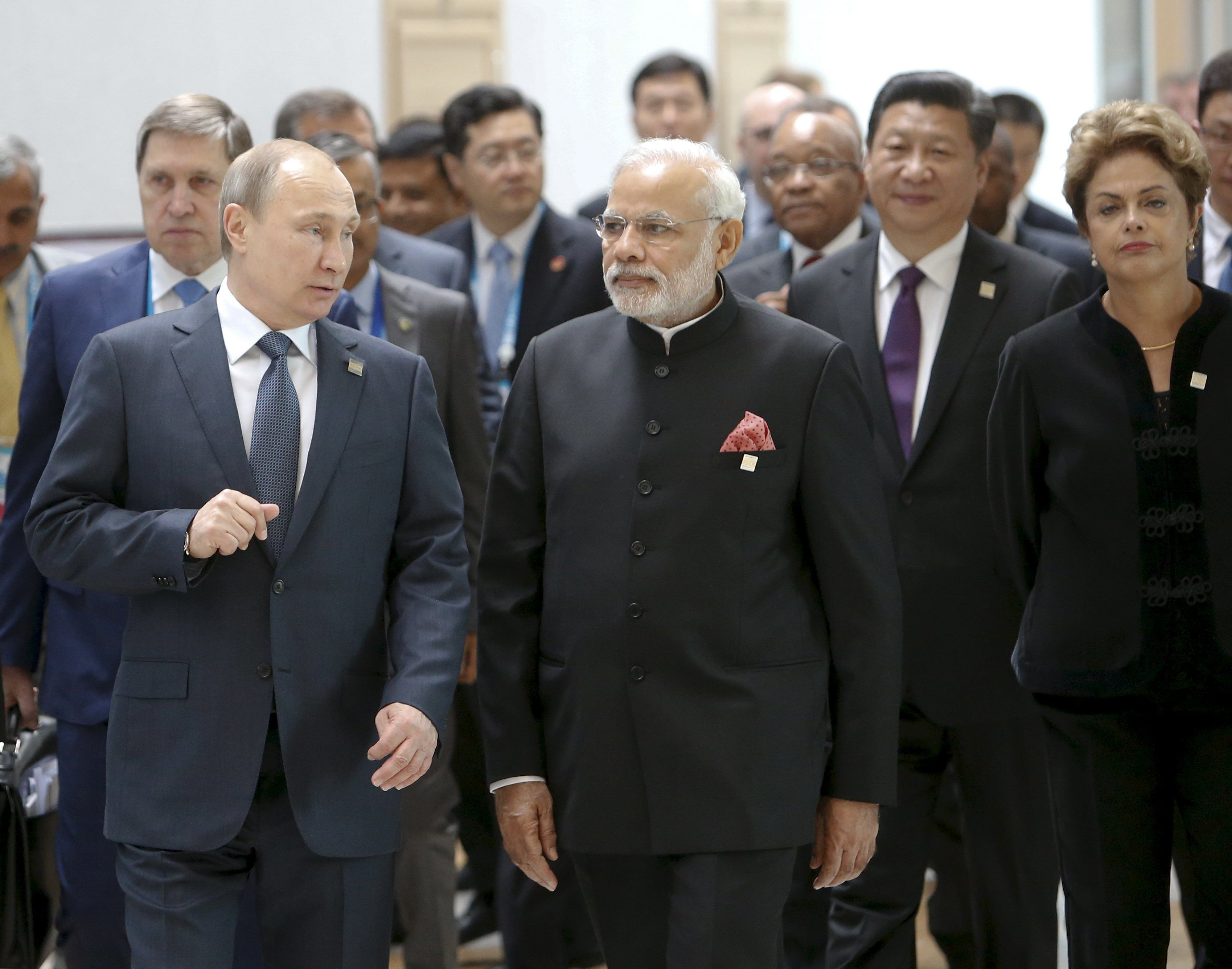 Владимир Путин на саммите БРИКС