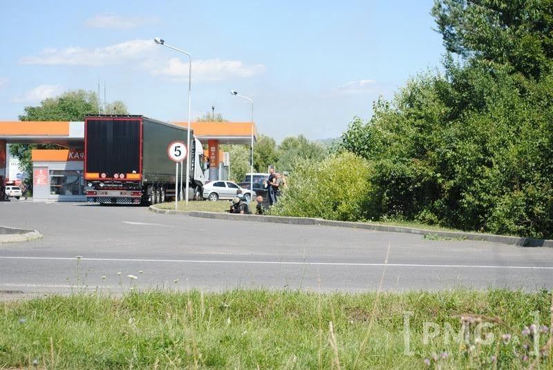 Фото с места событий в Мукачево