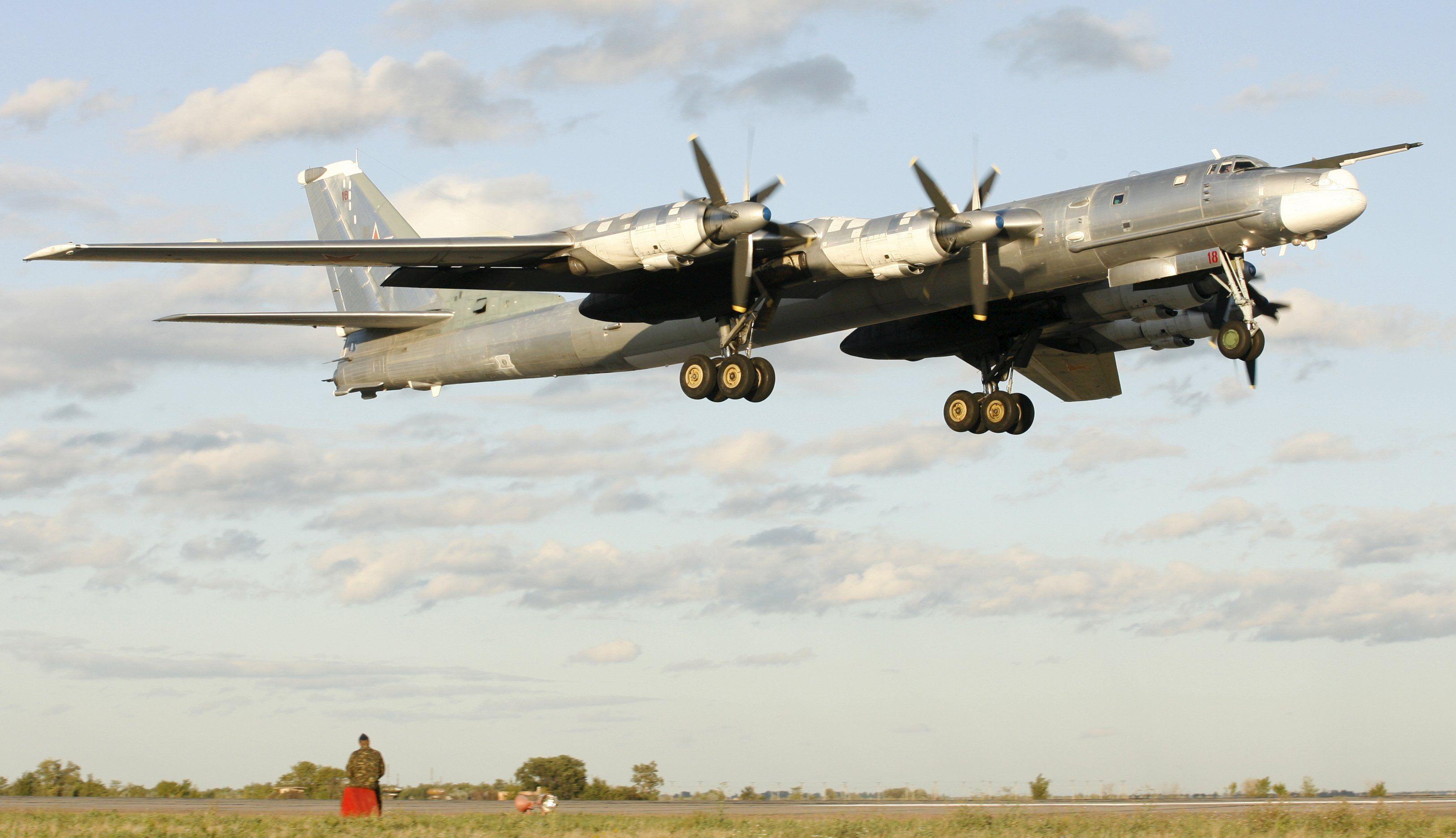 Стратегический ракетоносец Ту-95, иллюстрация