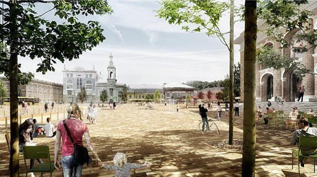 Проект реконструкции Почтовой площади