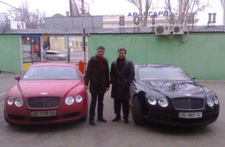 Владимир Медяник и Роман Ландик