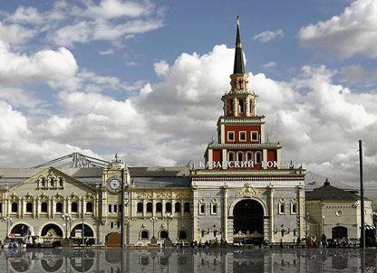 Казанский вокзал в Москве, иллюстрация
