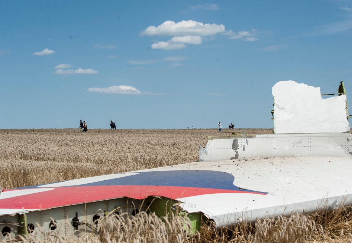 Останки сбитого на Донбассе Boeing-777