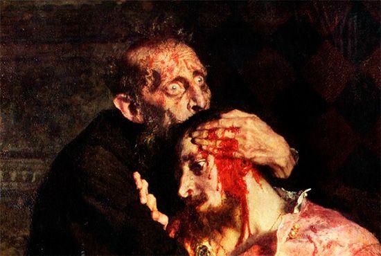 Илья Репин. Иван Грозный убивает своего сына (1885)