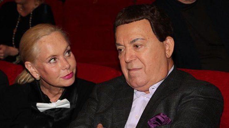 Кобзон со своей женой Нелли