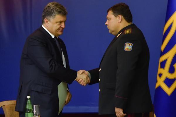Петр Порошенко и Валерий Кондратюк