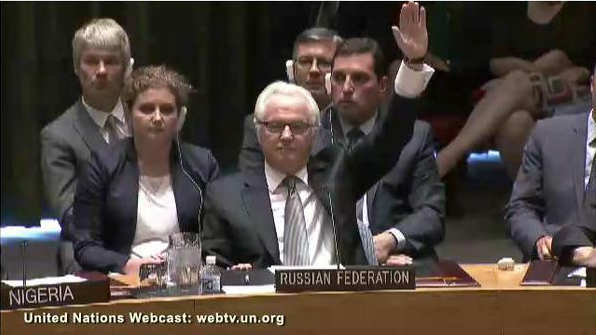 Одиозный представитель РФ в СБ ООН Виталий Чуркин