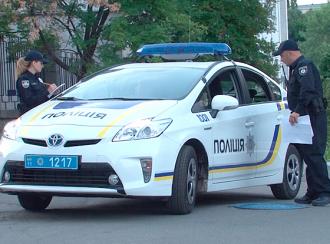 Патрульные в Киеве