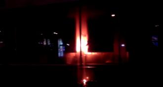 Пожар во Львове