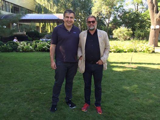 Михаел Саакашвили и Борис Гребенщиков
