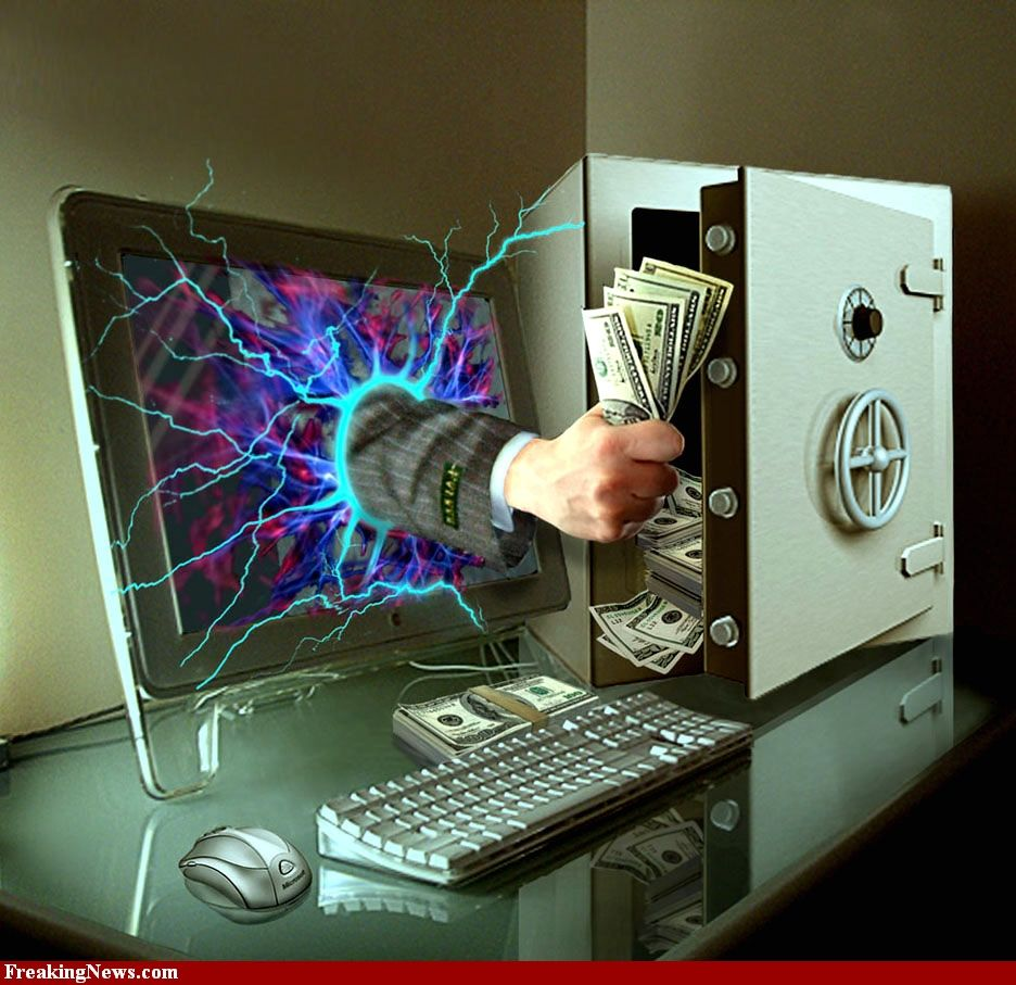 Хакеры украли из банка почти миллион