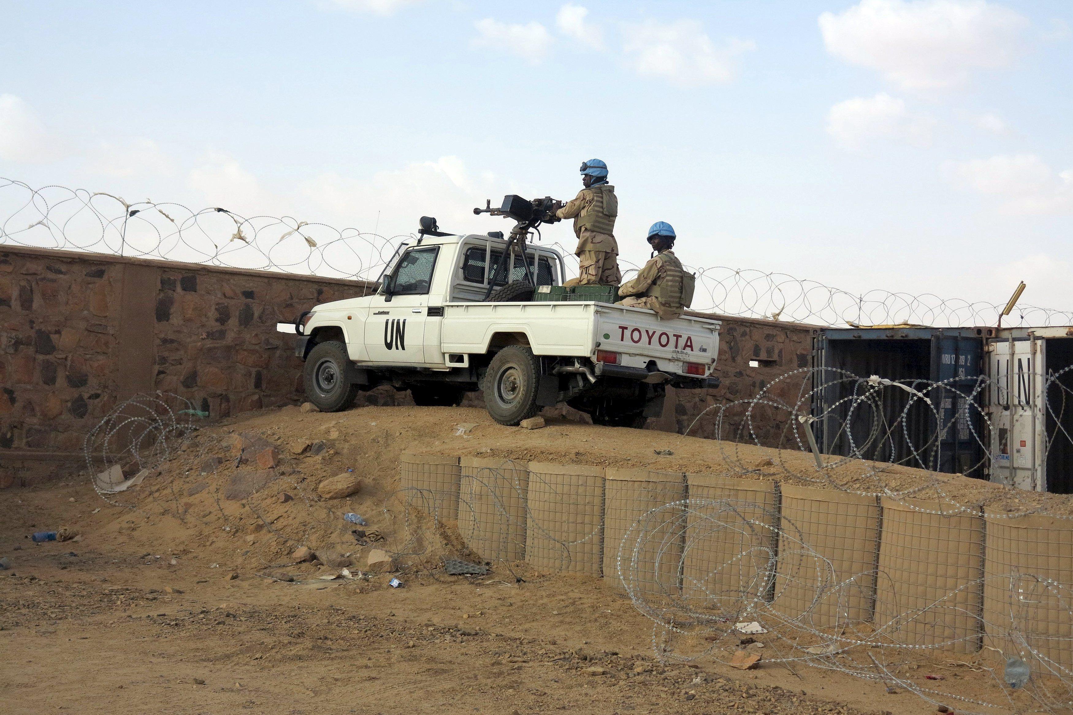 Миротворцы ООН в Мали