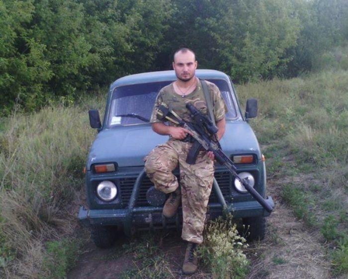 Гуричев пошел защищать Родину добровольцем.
