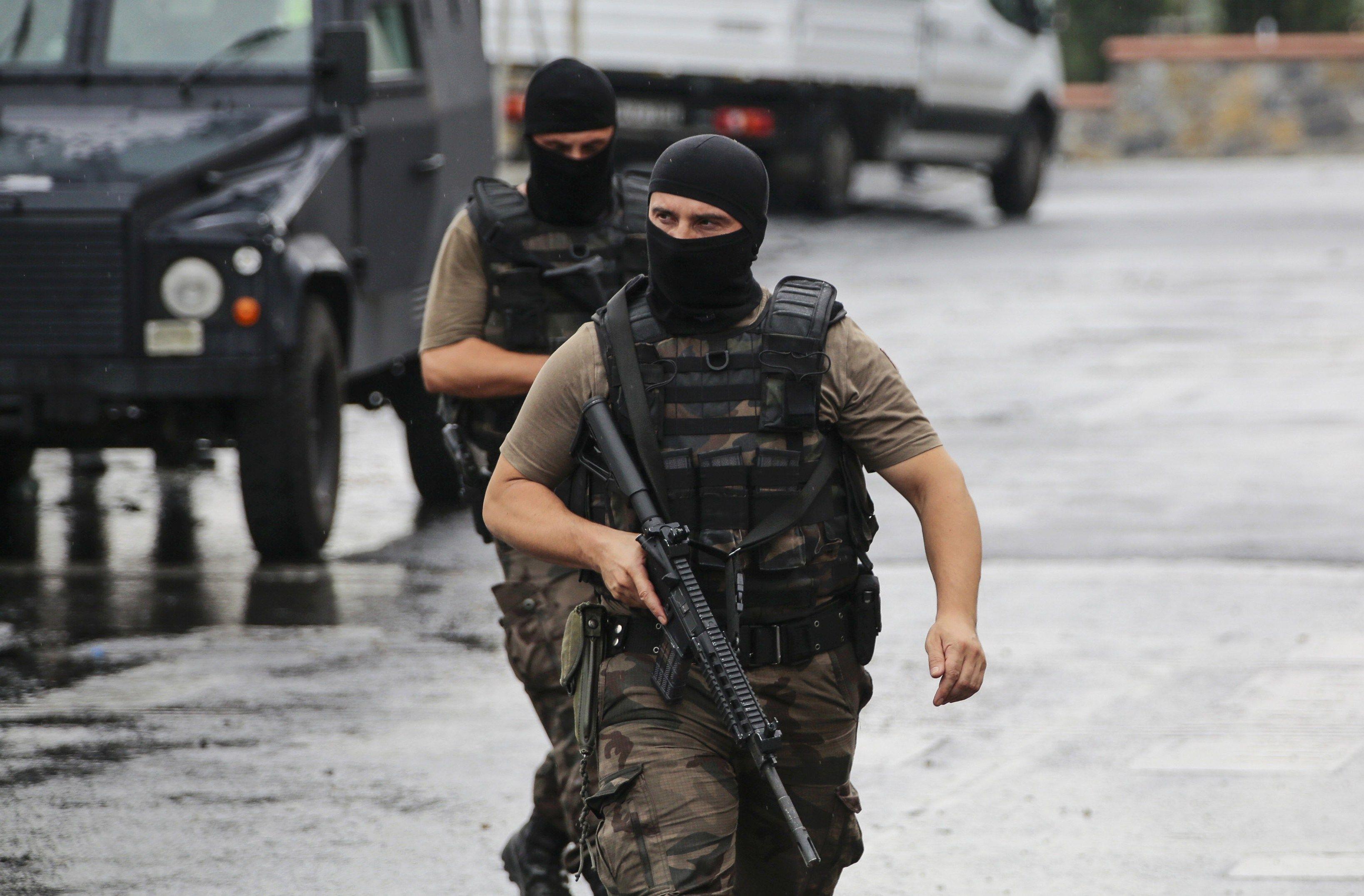 Турецкий спецназ, иллюстрация