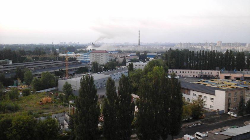 Химические выборы на Борщаговке