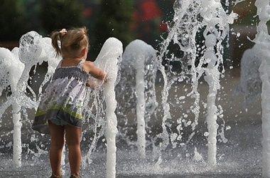 Жара, лето, вода
